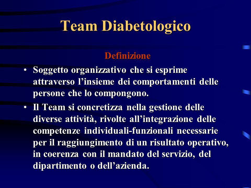 Team Diabetologico Definizione