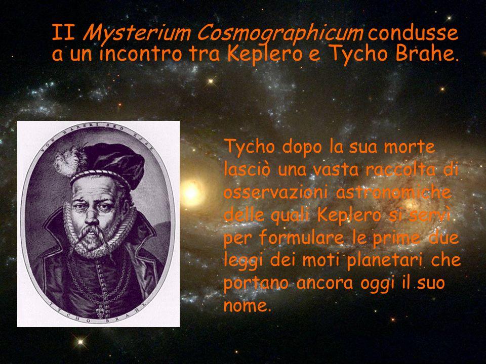 II Mysterium Cosmographicum condusse a un incontro tra Keplero e Tycho Brahe.