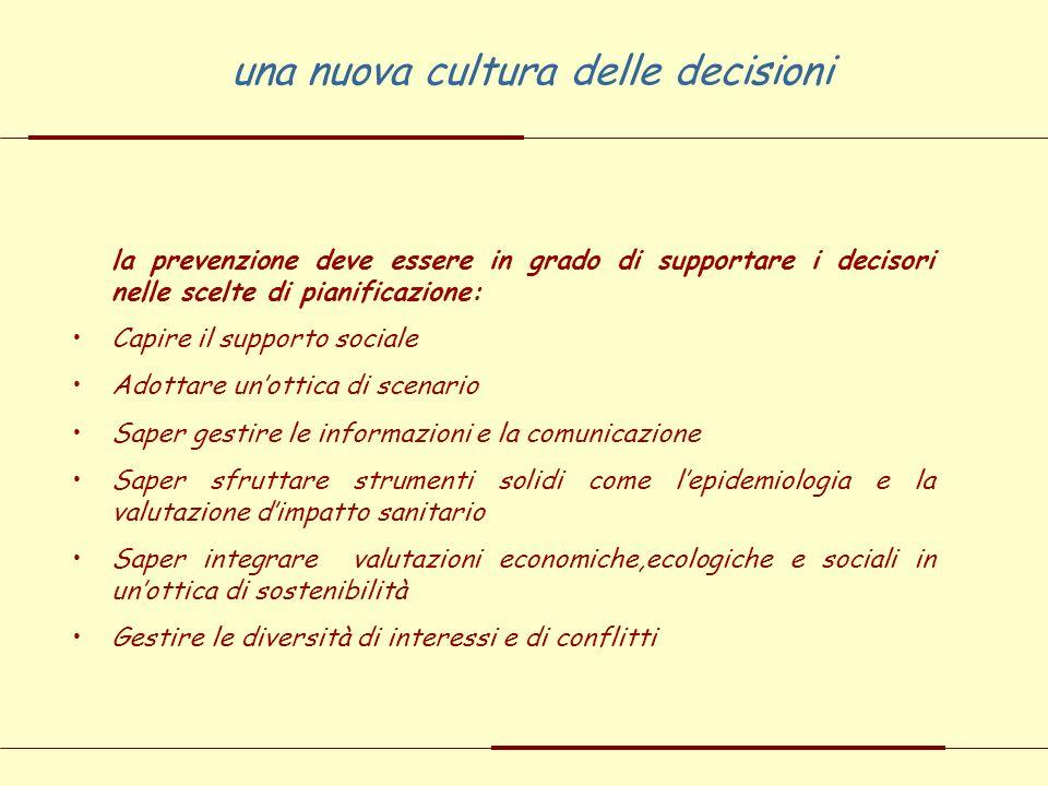 una nuova cultura delle decisioni