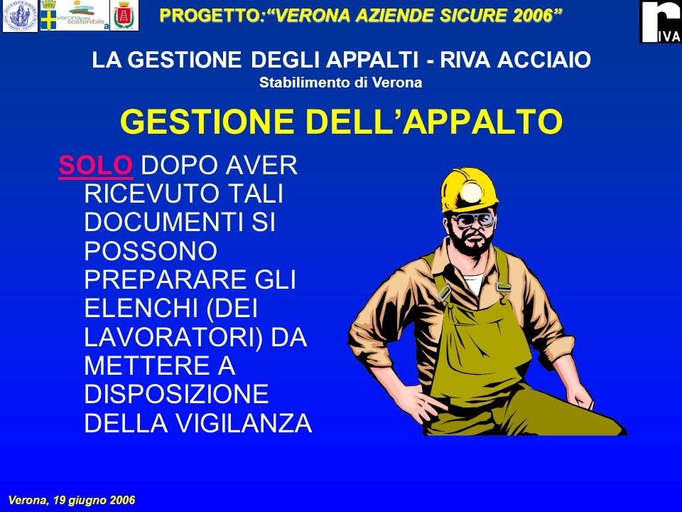 GESTIONE DELL'APPALTO