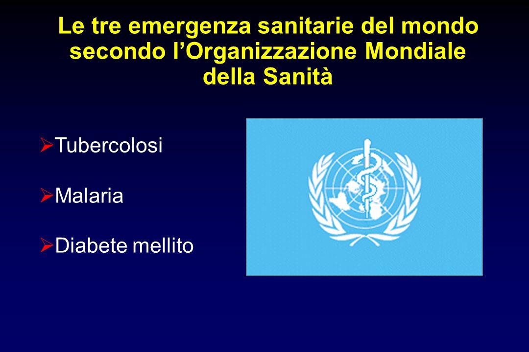 Le tre emergenza sanitarie del mondo secondo l'Organizzazione Mondiale della Sanità