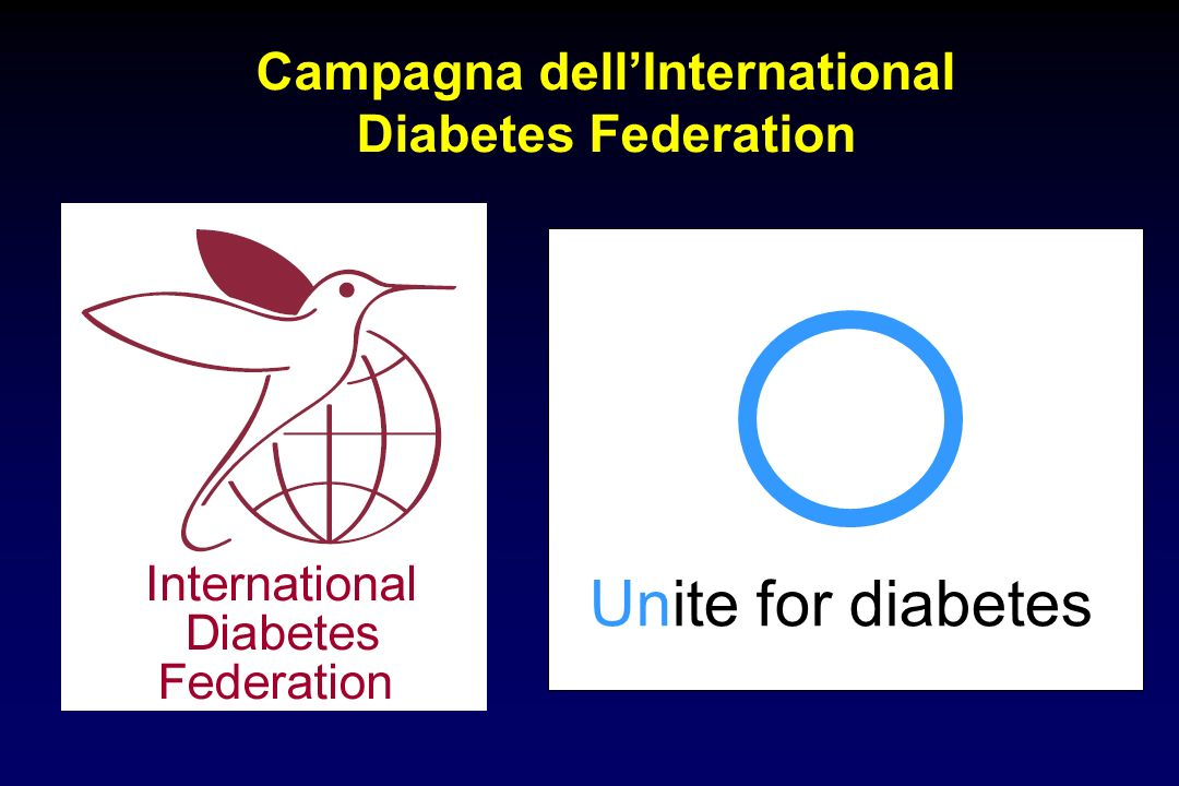 Campagna dell'International Diabetes Federation
