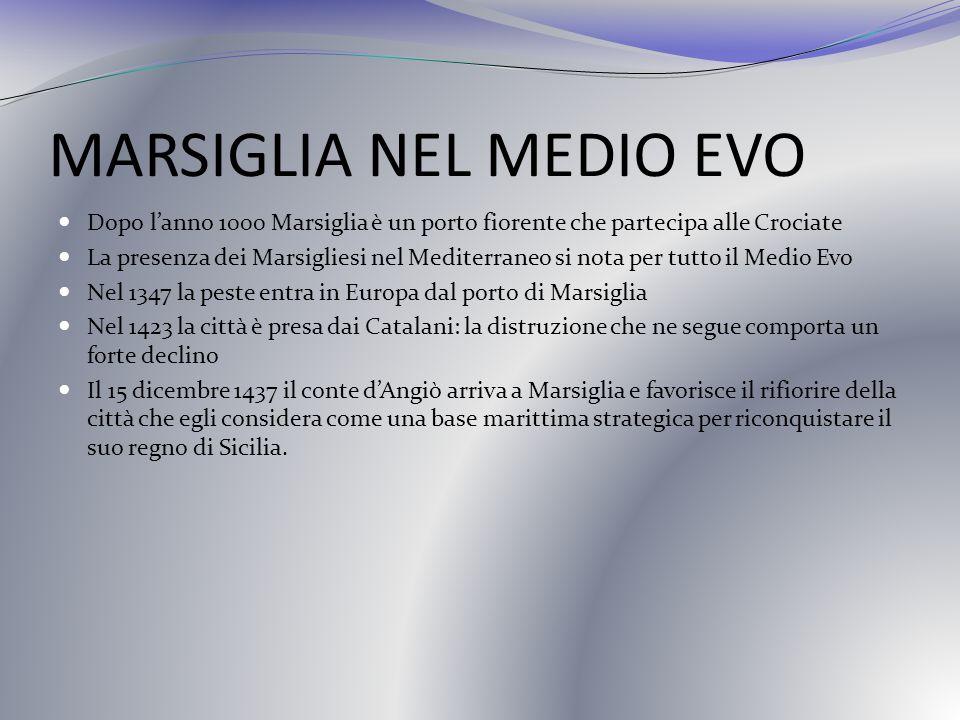 MARSIGLIA NEL MEDIO EVO