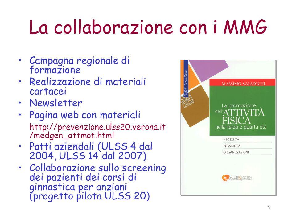La collaborazione con i MMG