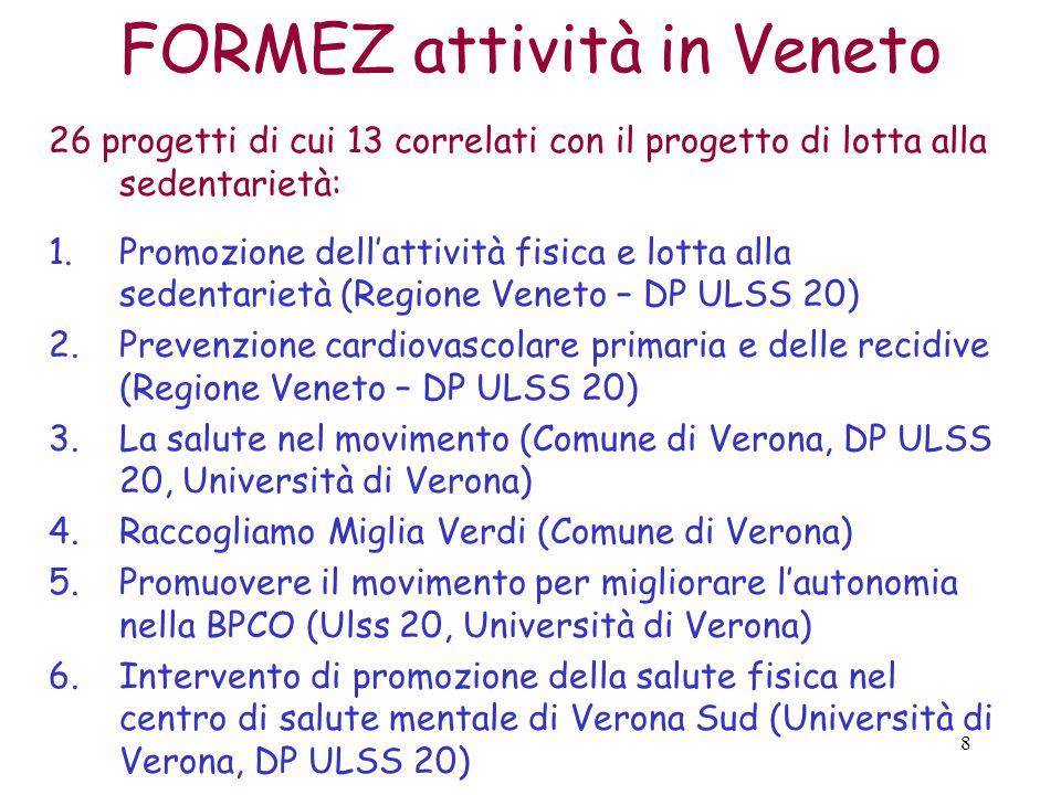 FORMEZ attività in Veneto
