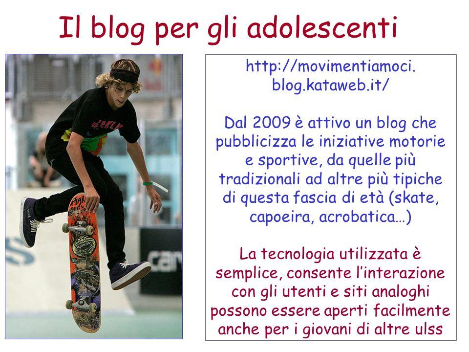 Il blog per gli adolescenti