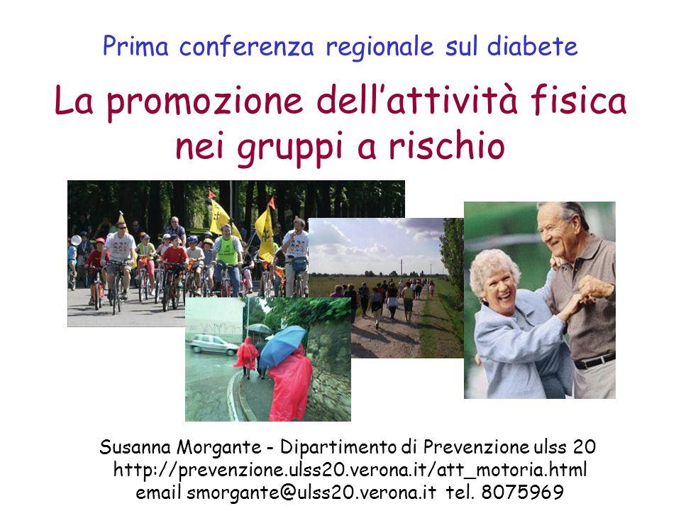 Prima conferenza regionale sul diabete