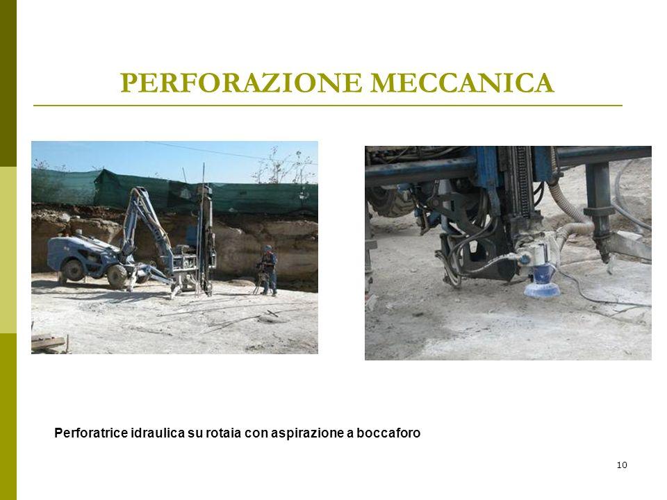 Perforazione meccanica