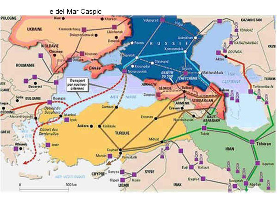 e del Mar Caspio
