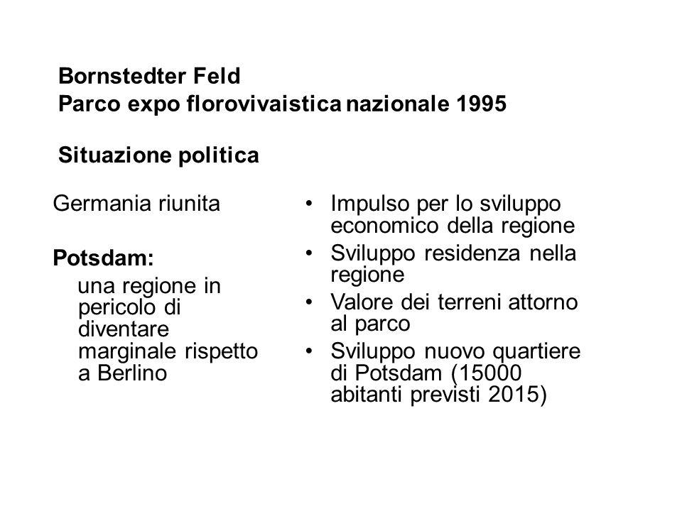Bornstedter Feld Parco expo florovivaistica nazionale 1995
