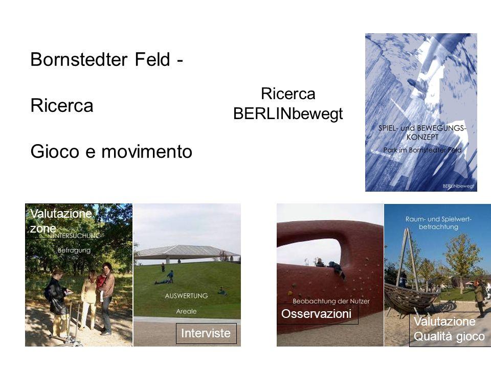 Bornstedter Feld - Ricerca Gioco e movimento Ricerca BERLINbewegt