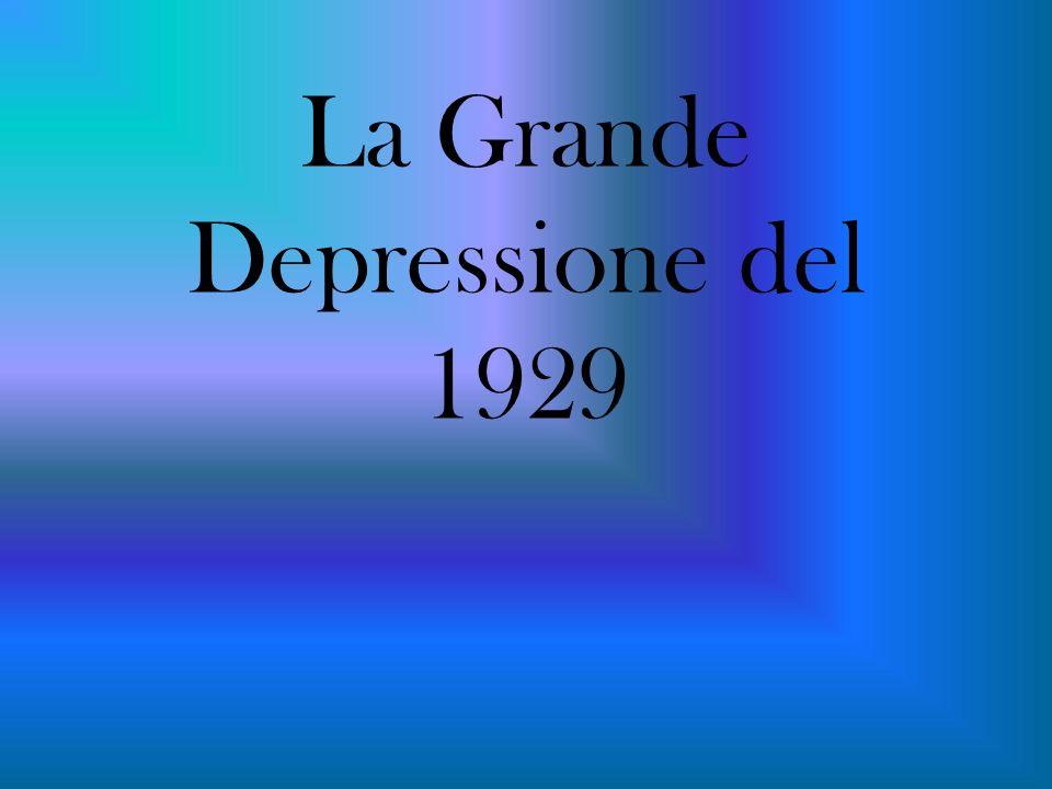 La Grande Depressione del
