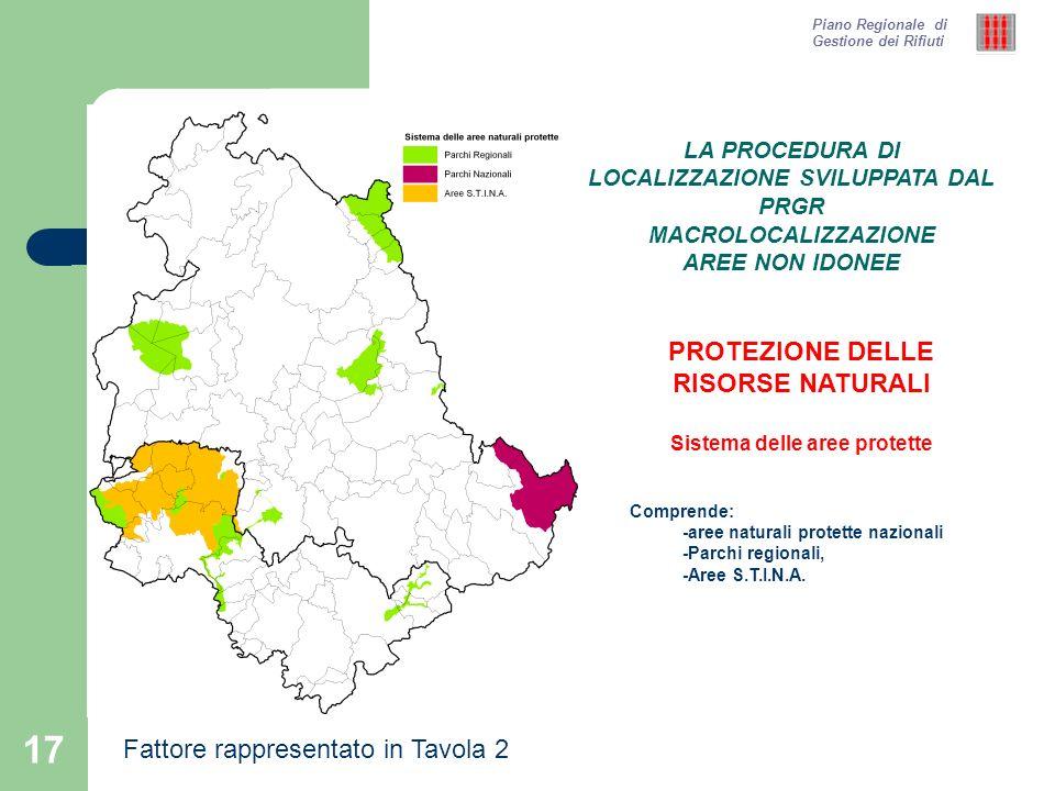 PROTEZIONE DELLE RISORSE NATURALI Sistema delle aree protette