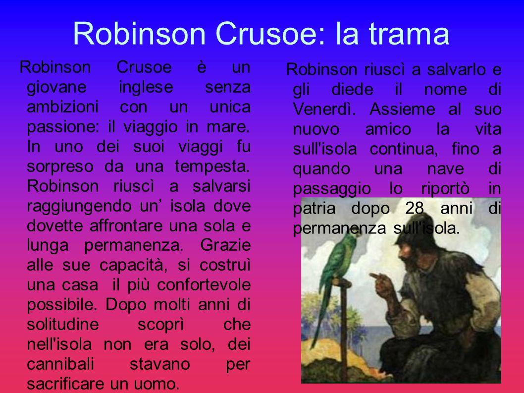 Robinson Crusoe: la trama