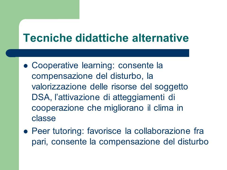 Tecniche didattiche alternative