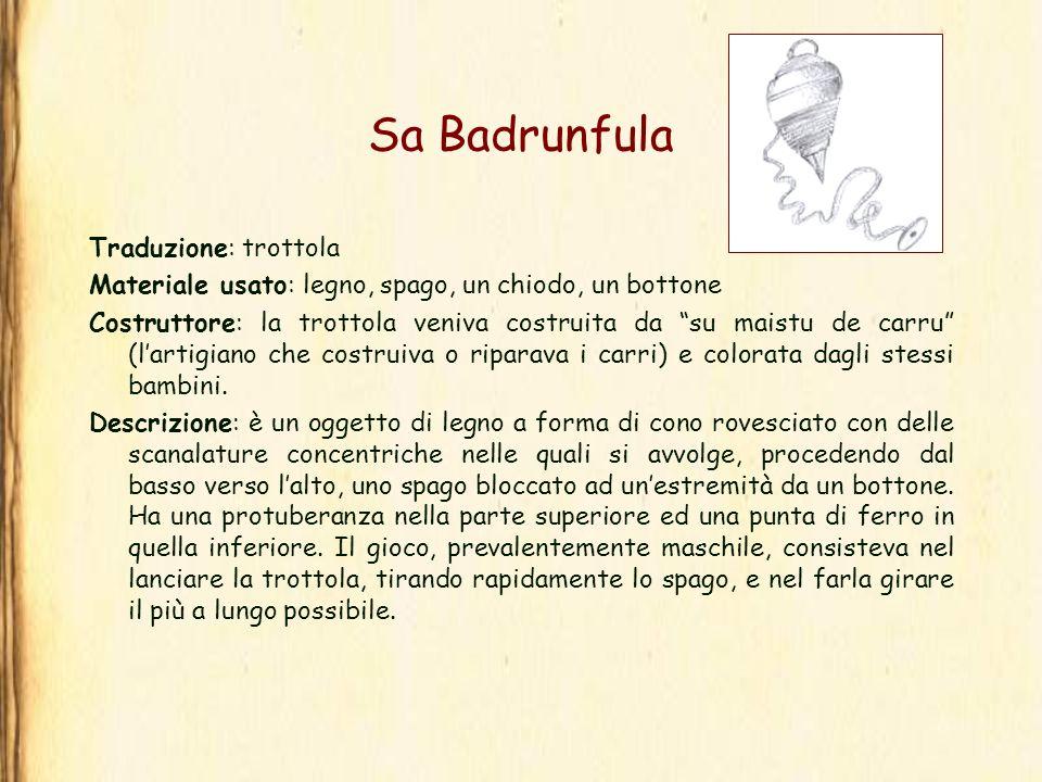 Sa Badrunfula Traduzione: trottola