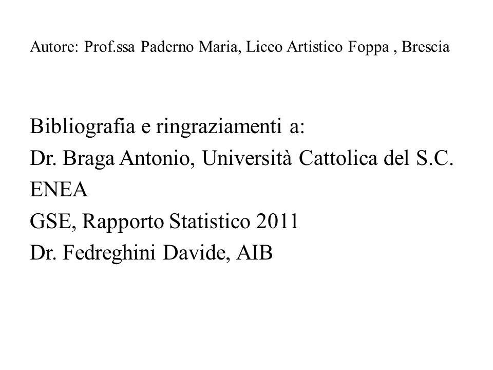 Autore: Prof.ssa Paderno Maria, Liceo Artistico Foppa , Brescia