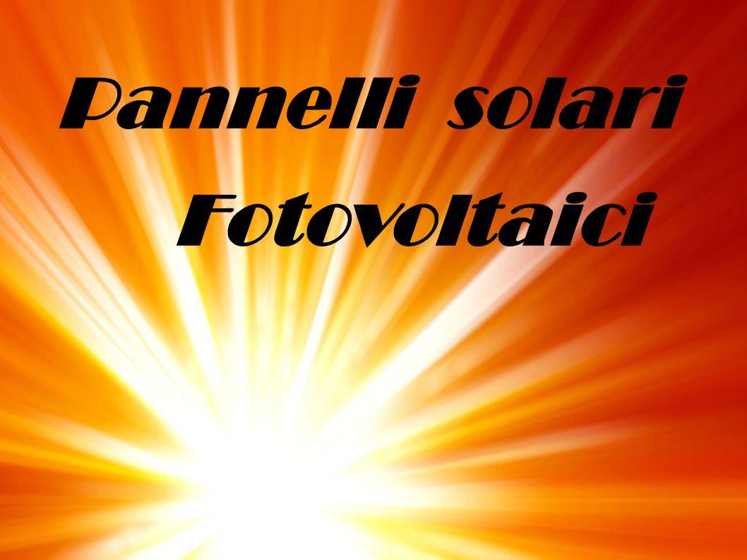 Pannelli solari Fotovoltaici