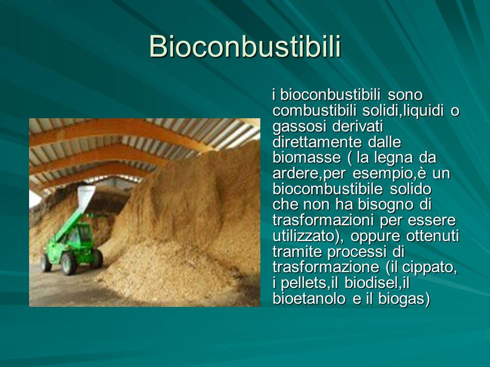 Bioconbustibili