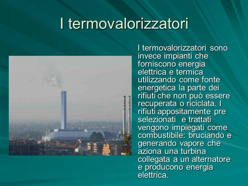 I termovalorizzatori