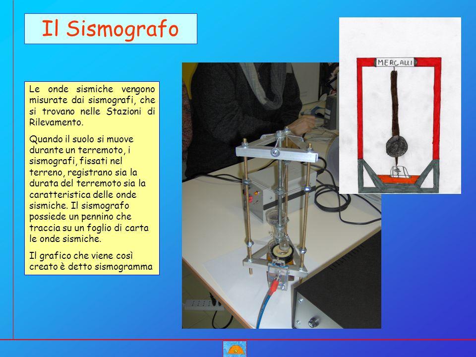 Il Sismografo Le onde sismiche vengono misurate dai sismografi, che si trovano nelle Stazioni di Rilevamento.
