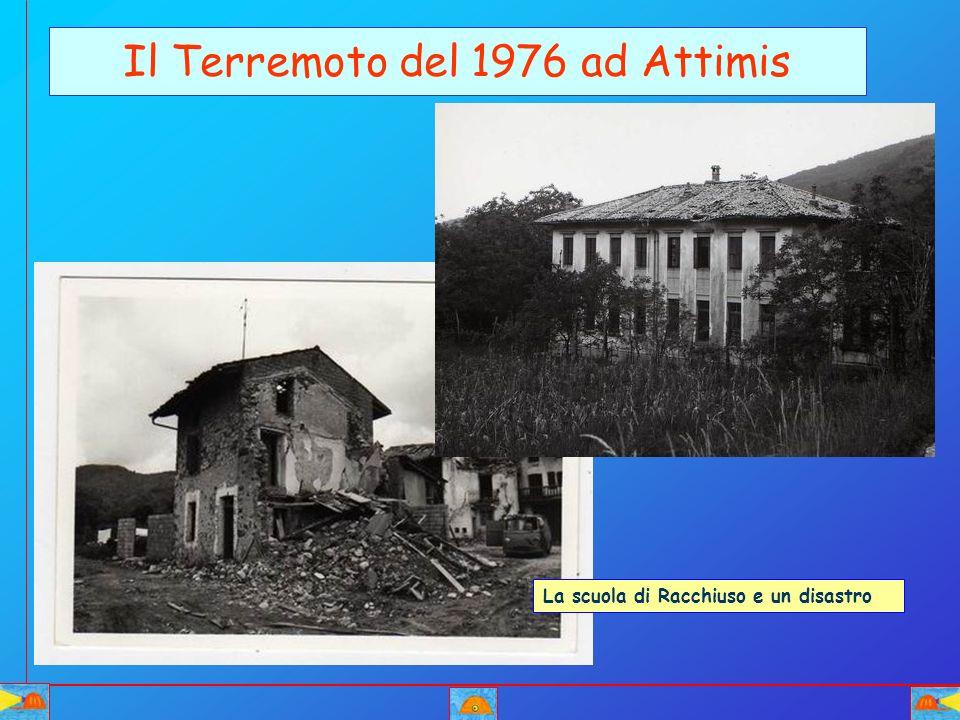 Il Terremoto del 1976 ad Attimis