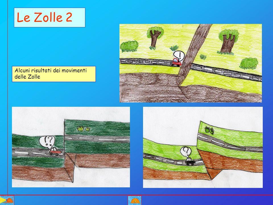 Le Zolle 2 Alcuni risultati dei movimenti delle Zolle