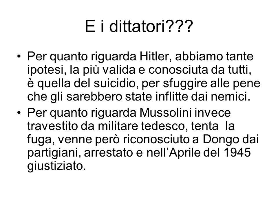 E i dittatori