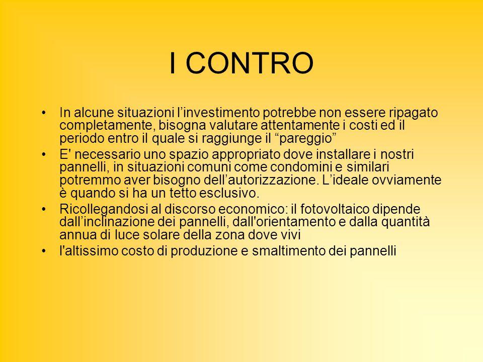 I CONTRO