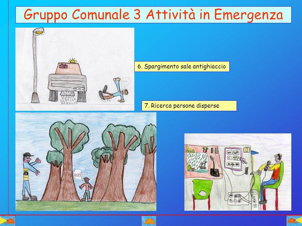 Gruppo Comunale 3 Attività in Emergenza