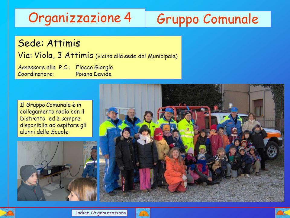 Organizzazione 4 Gruppo Comunale