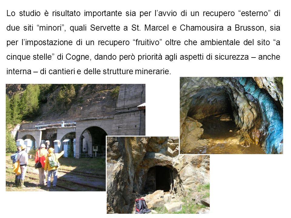 Lo studio è risultato importante sia per l'avvio di un recupero esterno di due siti minori , quali Servette a St.