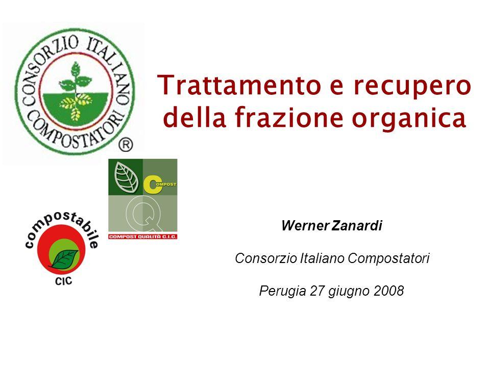 Trattamento e recupero della frazione organica