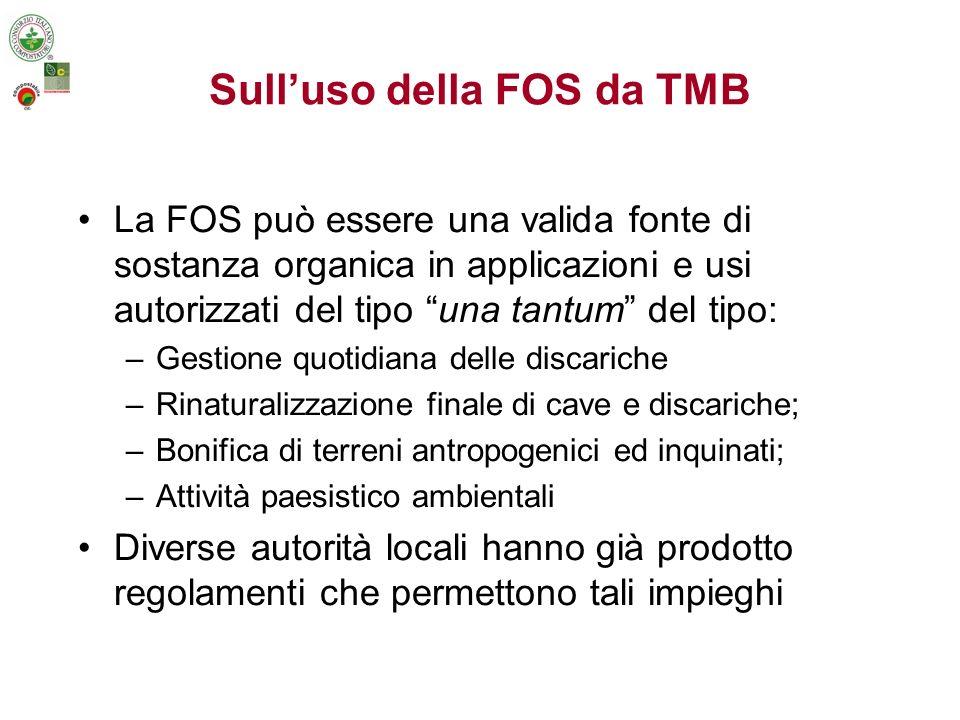 Sull'uso della FOS da TMB