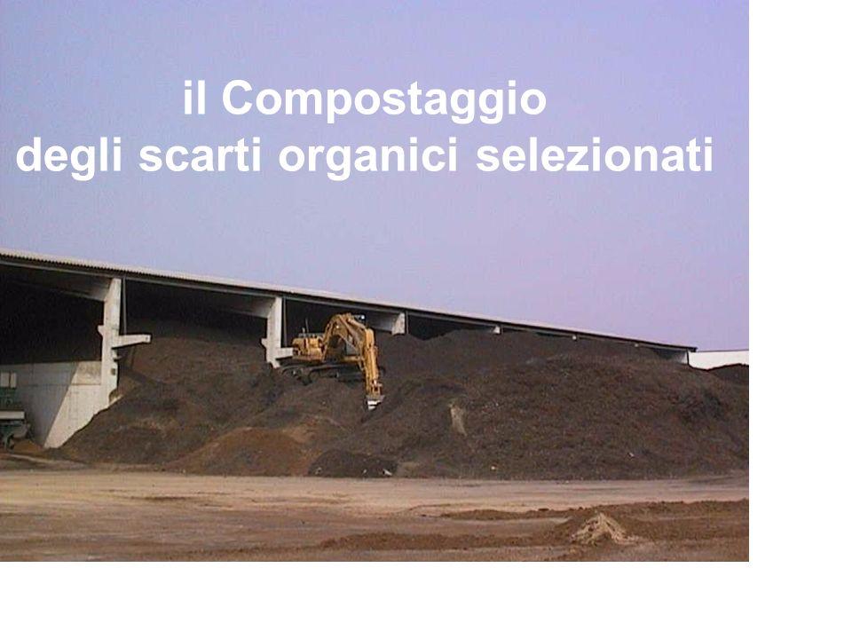 il Compostaggio degli scarti organici selezionati