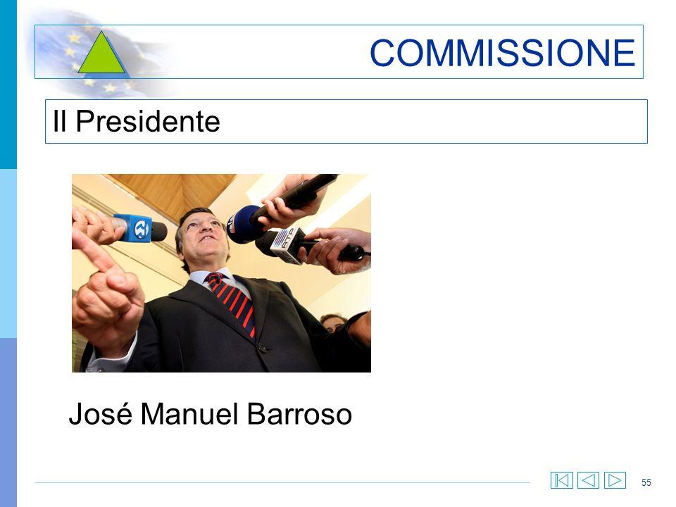 COMMISSIONE Il Presidente José Manuel Barroso