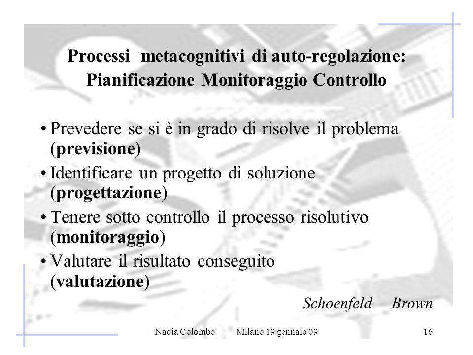 Pianificazione Monitoraggio Controllo
