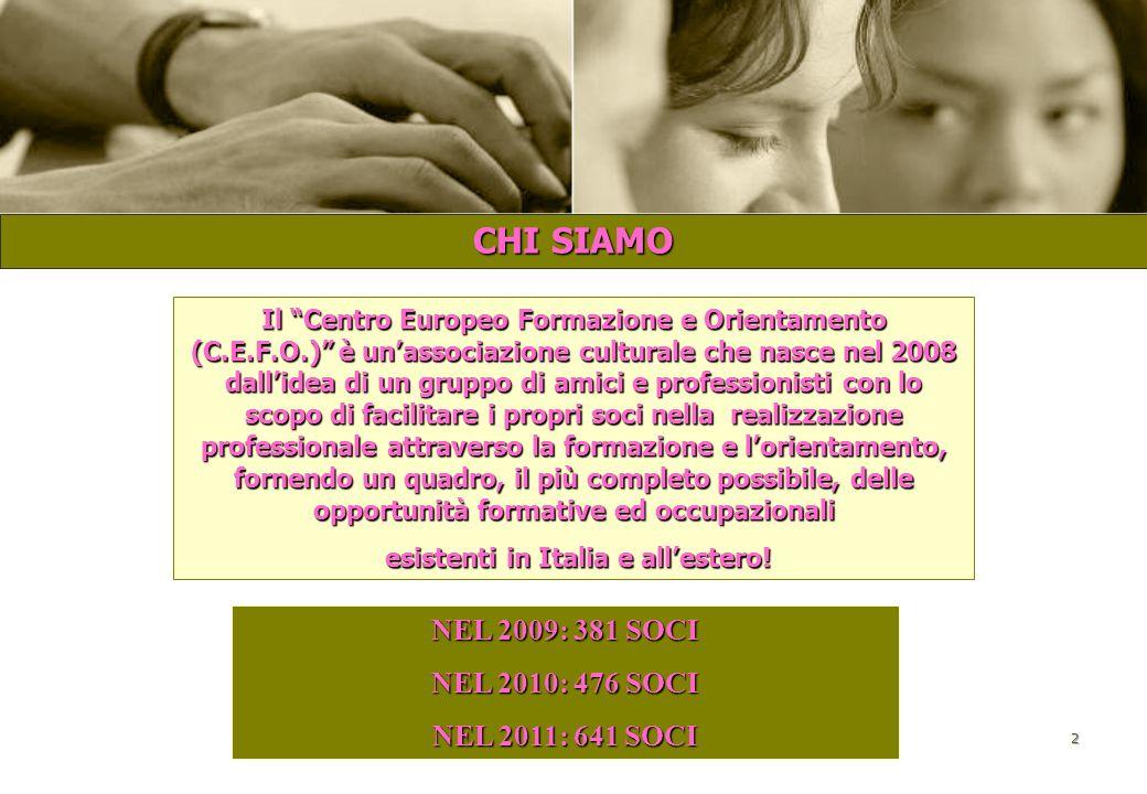 esistenti in Italia e all'estero!