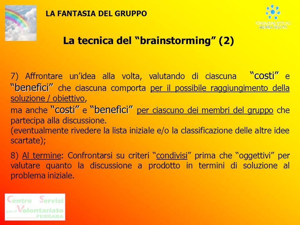 La tecnica del brainstorming (2)