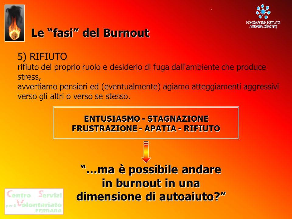 …ma è possibile andare in burnout in una dimensione di autoaiuto