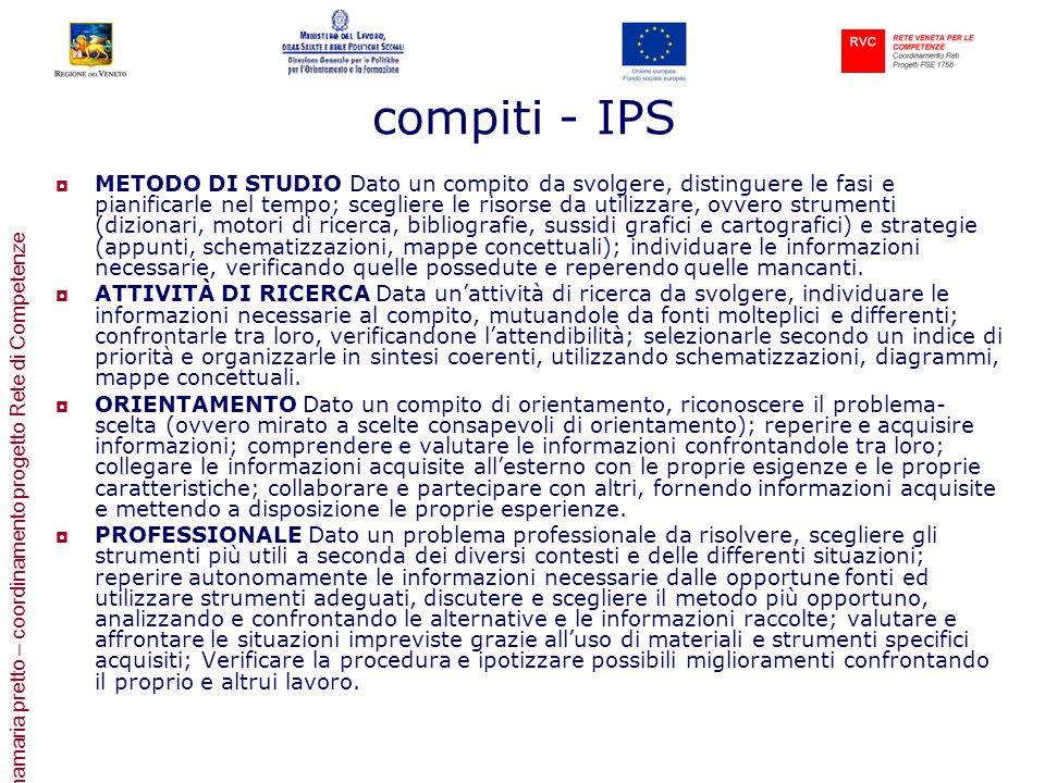 compiti - IPS