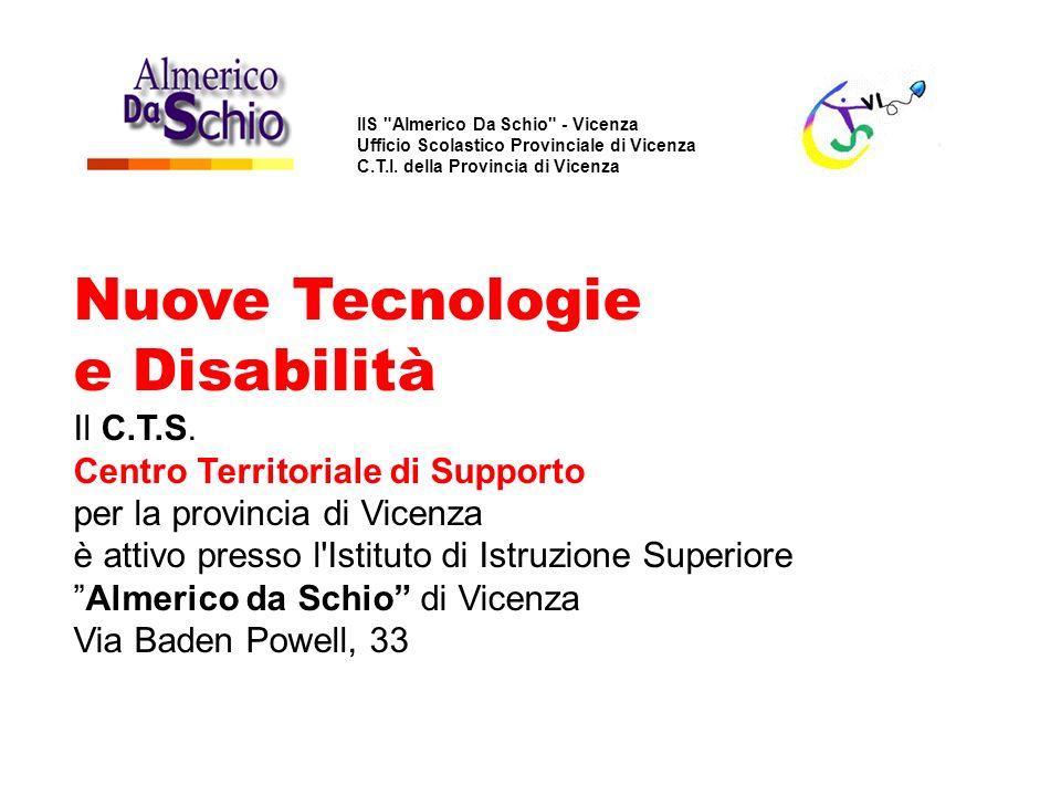 Nuove Tecnologie e Disabilità