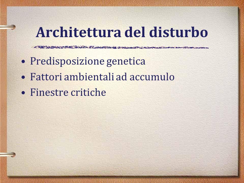 Architettura del disturbo