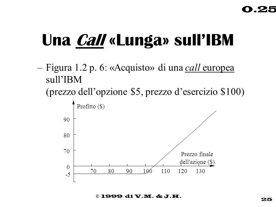 Una Call «Lunga» sull'IBM