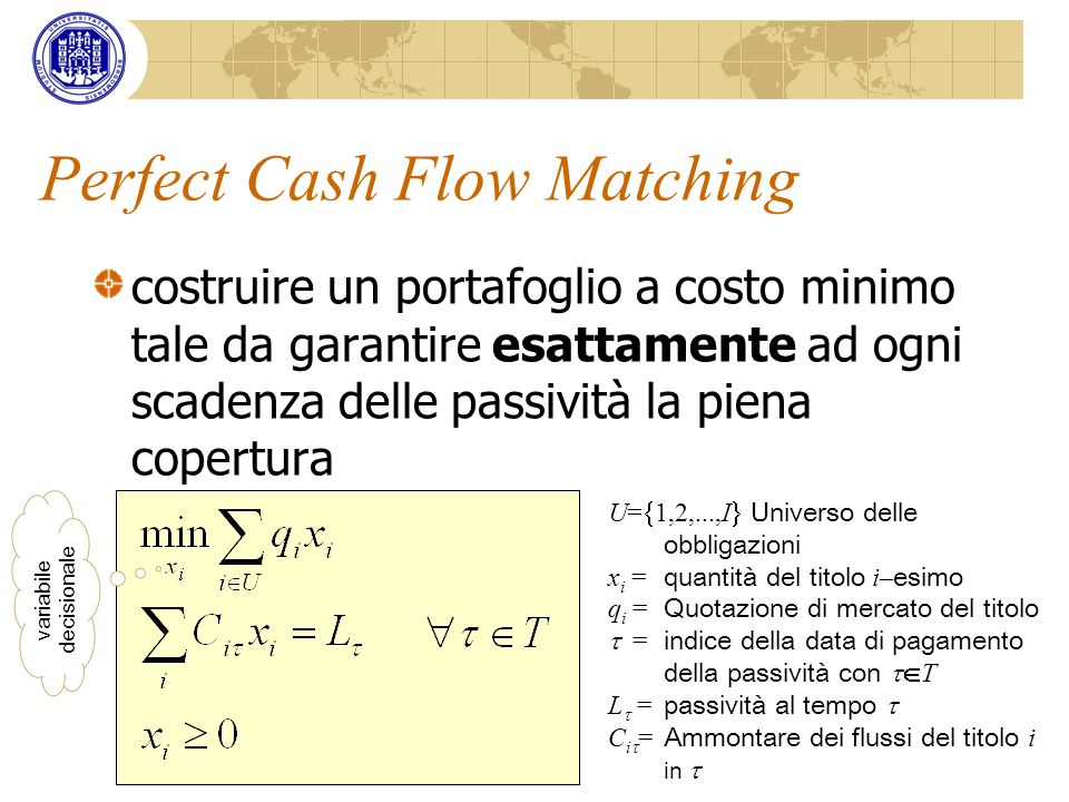 Perfect Cash Flow Matching