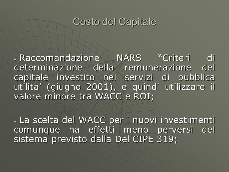 Costo del Capitale