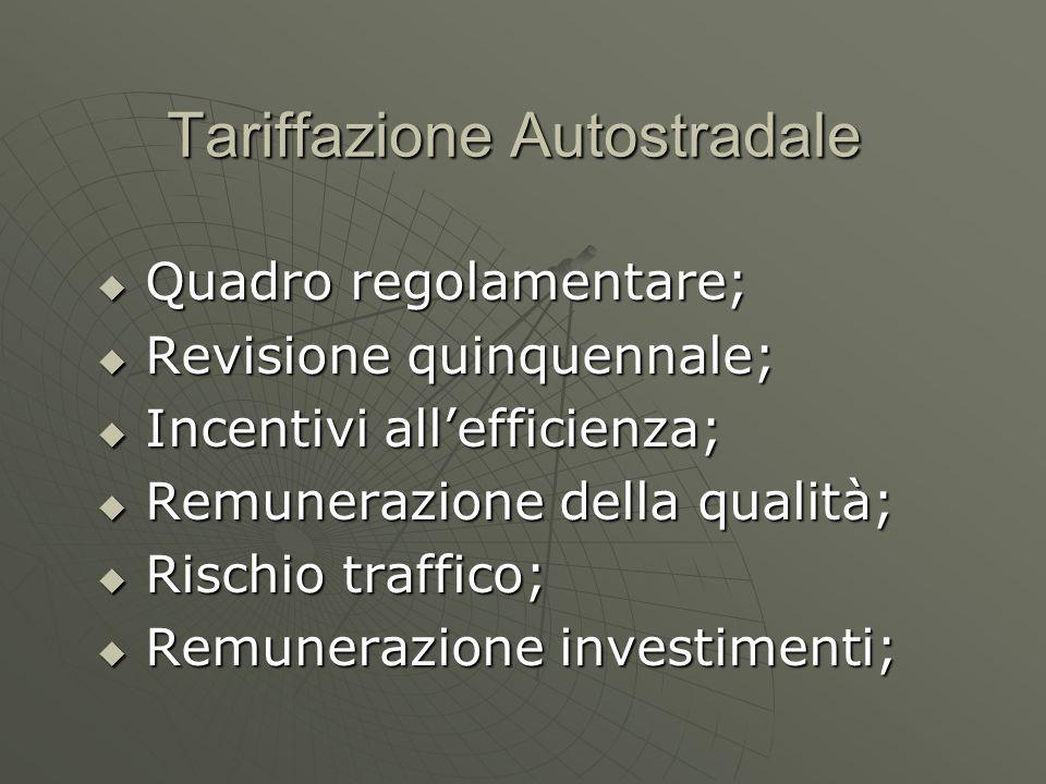 Tariffazione Autostradale