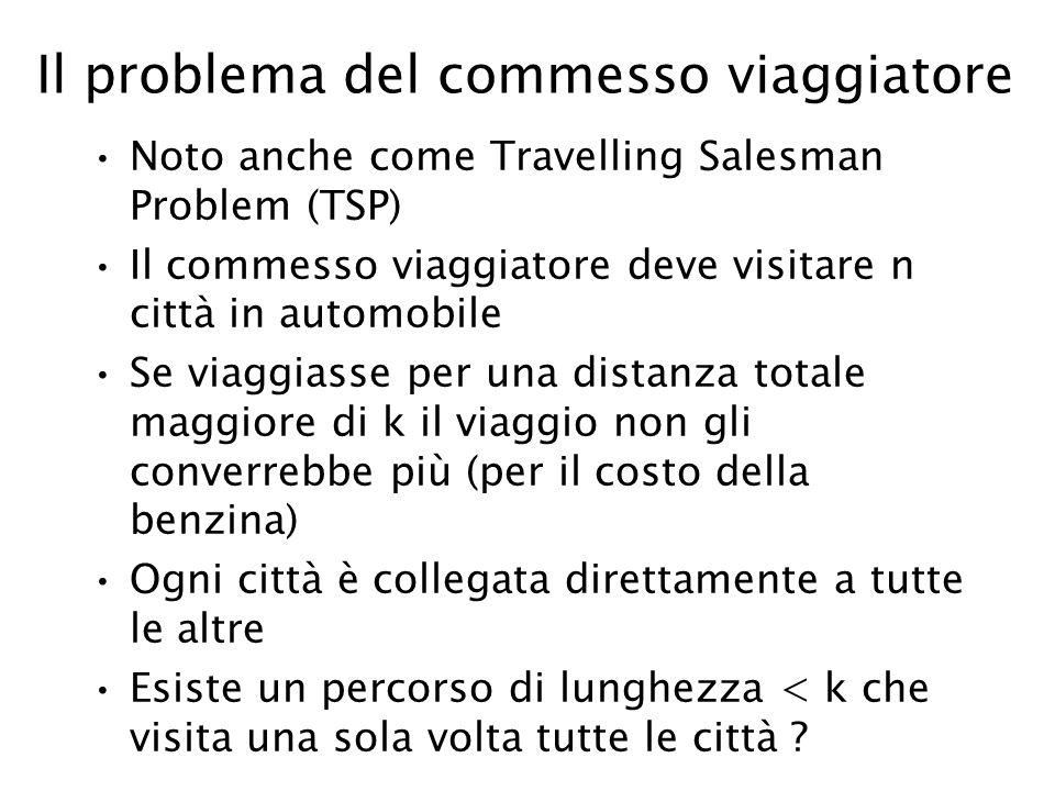 Il problema del commesso viaggiatore