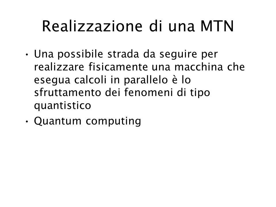 Realizzazione di una MTN