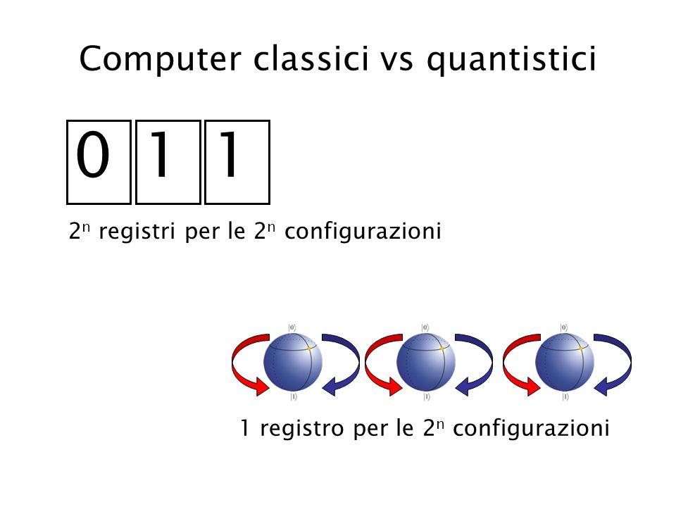 Computer classici vs quantistici